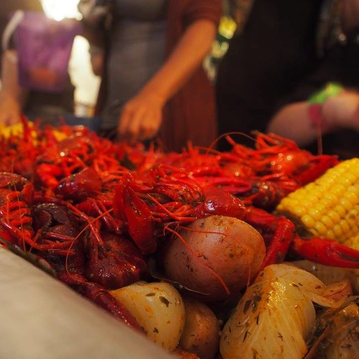 crawfish tafel, event